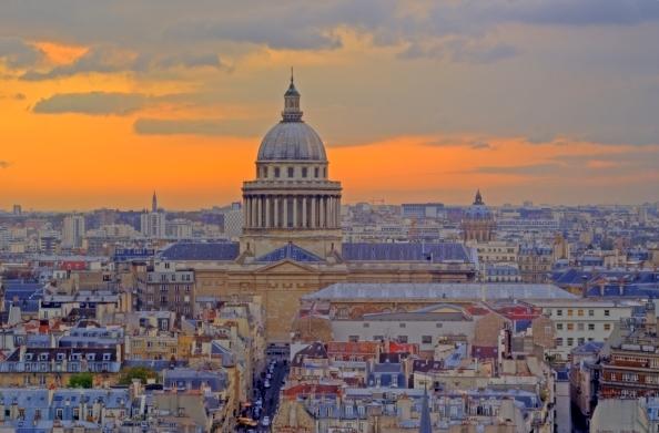 Quartier Latin Paris France Pantheon